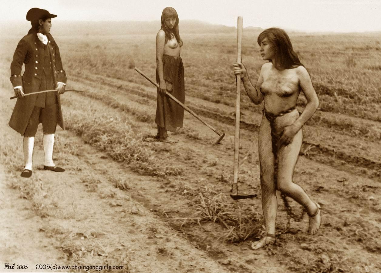 Opinion you Naked slave girl chain gang