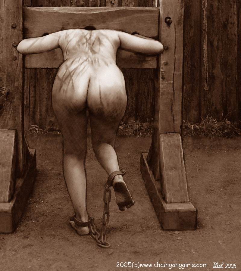 naked girl being punished